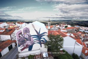 Kunst & Wolle in Covilhã – 10 Jahre WOOL Festival in 2021 / Foto: Centro de Portugal